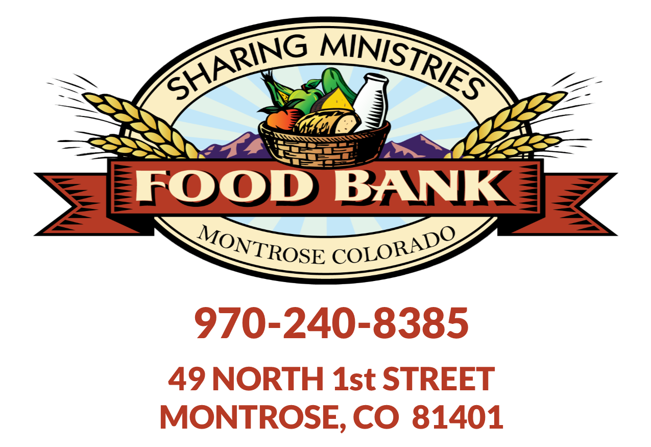 Sharing Ministries Food Bank Logo